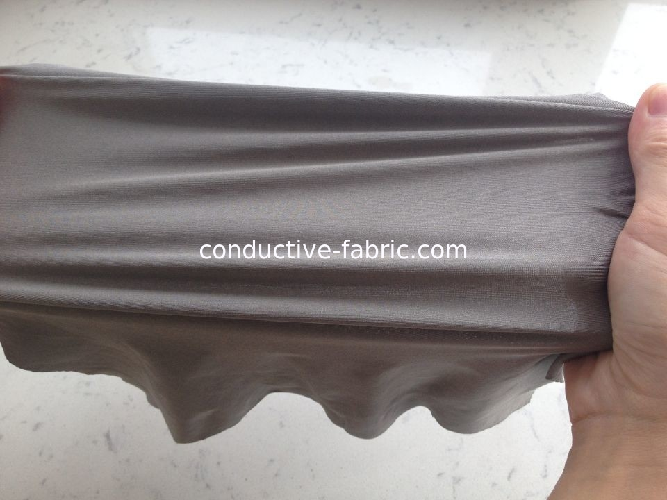 two-way stretch spandex anti electromagnetic radiation silver fiber fabric