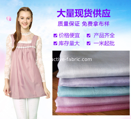 antiradiation antibacteril color silver fabric for electromagnetic shielding clothes