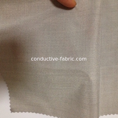 China emf shielding silver fabric for clothing garments curtains 40DB at 3GHZ distributor