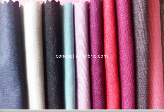Blending cotton+ stainless steel fiber fabric for EMF protection curtains and clothing 30DB