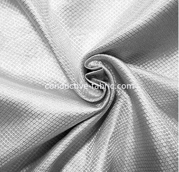 100%silver RF shielding silver fiber fabric for military tent anti-signal fabric
