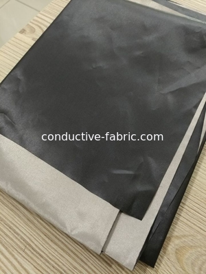 China black nickel copper rf shielding fabric EUROPE plain and grid woven distributor